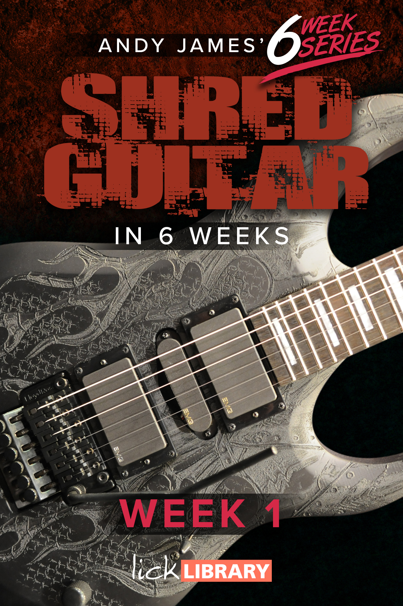 Thumbnail course 6 W Shred Guitar In6 Weeks Week1 RDR0334